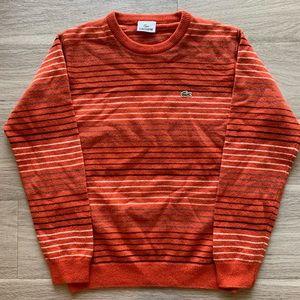 Vintage Lacoste Women's Sweater Size 4.